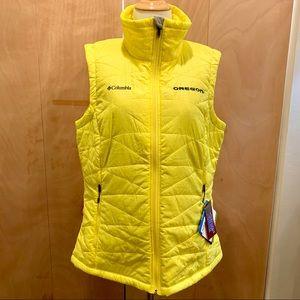 OREGON DUCKS Columbia vest with Omni shield